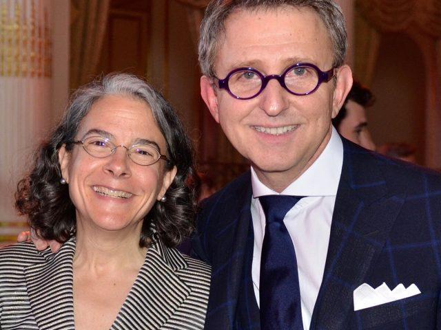 Michele with Thomas Schumacher